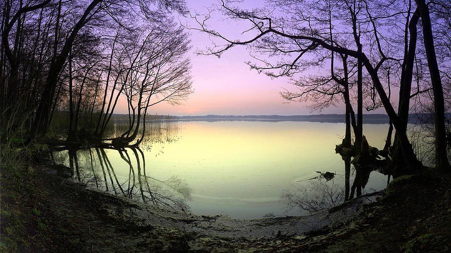 Lake Digital Art - Lake by Dorothy Binder