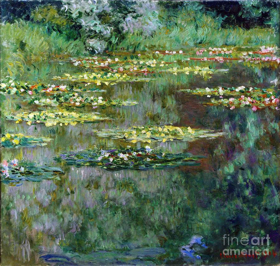 Claude Painting - Le Bassin Des Nympheas by Claude Monet
