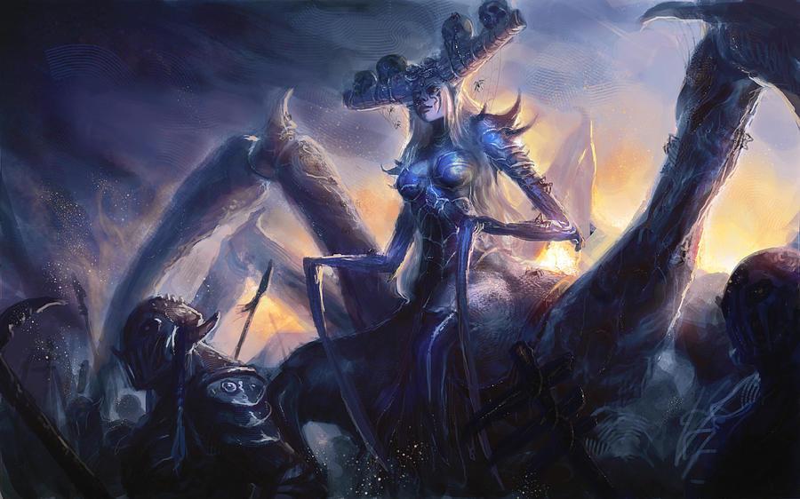 League Of Legends Digital Art - League Of Legends by Dorothy Binder