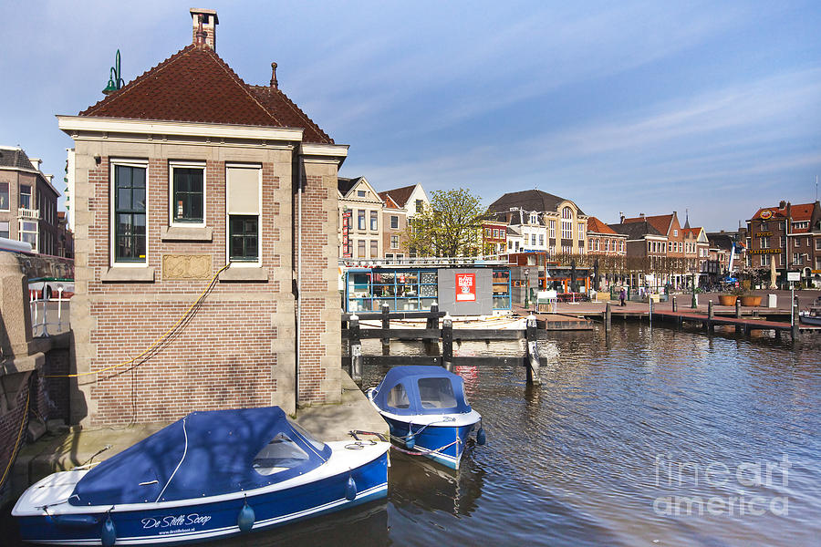 Architecture Photograph - Leiden by Andre Goncalves