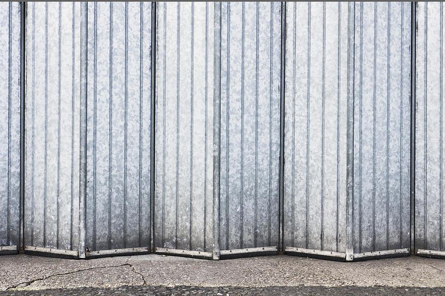 Abstract Photograph - Metal Door 5 by Tom Gowanlock