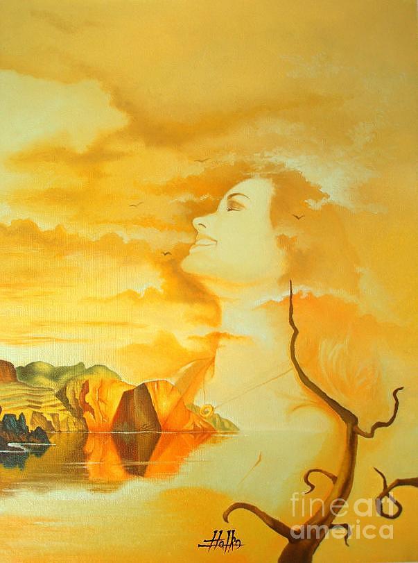 Landscape Painting - No Title by Marek Halko