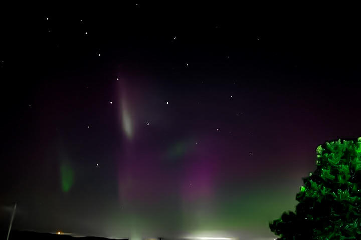 Northern Lights Photograph - Northern Lights  by Aaron Tobin