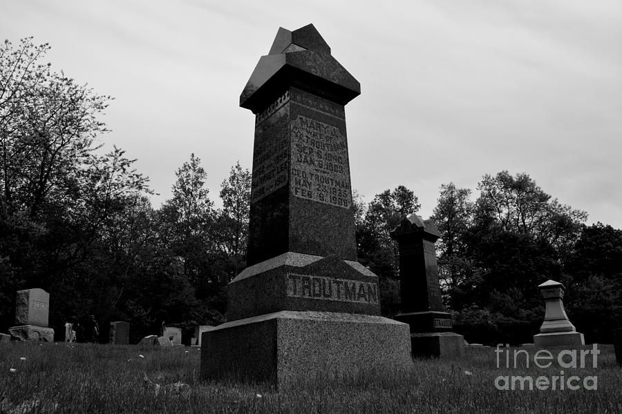 May Photograph - Odd Fellows Cemetery by Ben Schumin