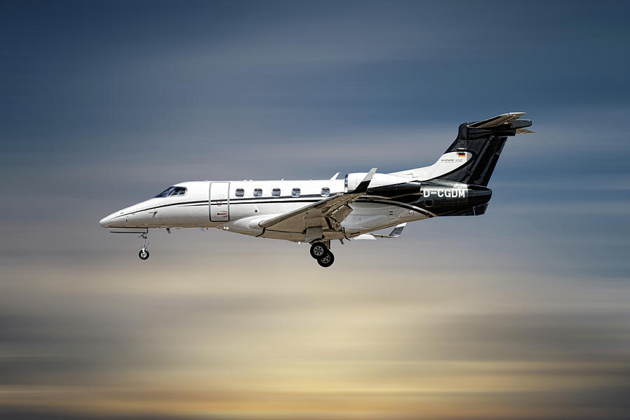 Phenom Mixed Media - Phenom 300 Arrow by Smart Aviation