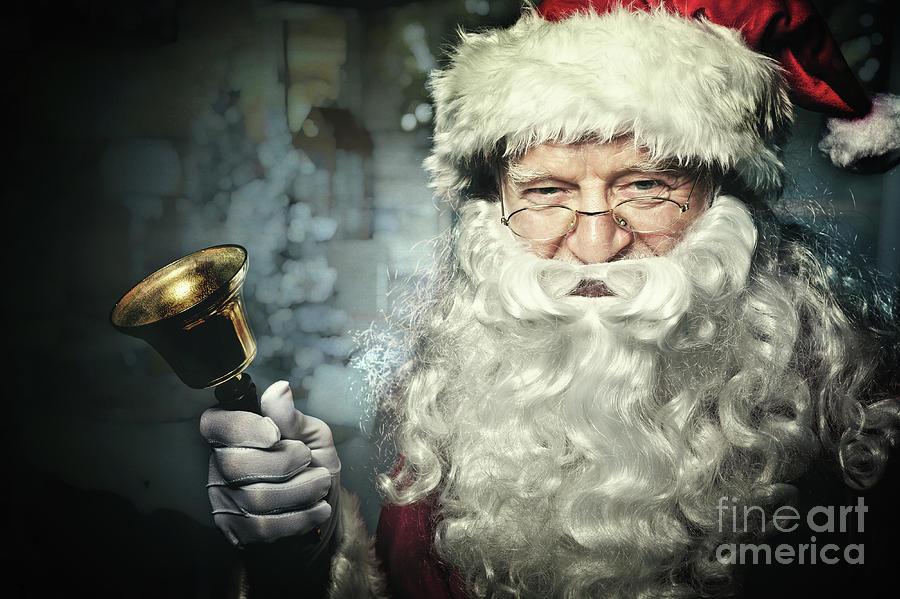 Santa Photograph - Santa Claus Portrait by Gualtiero Boffi