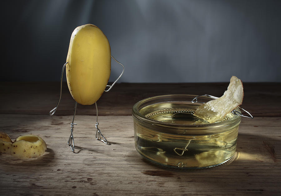 Simple Things Photograph - Simple Things - Potatoes by Nailia Schwarz