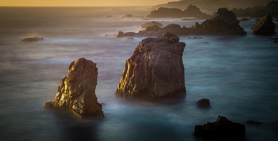 Soberanes Point Big Sur California Beautiful Sunset Photograph