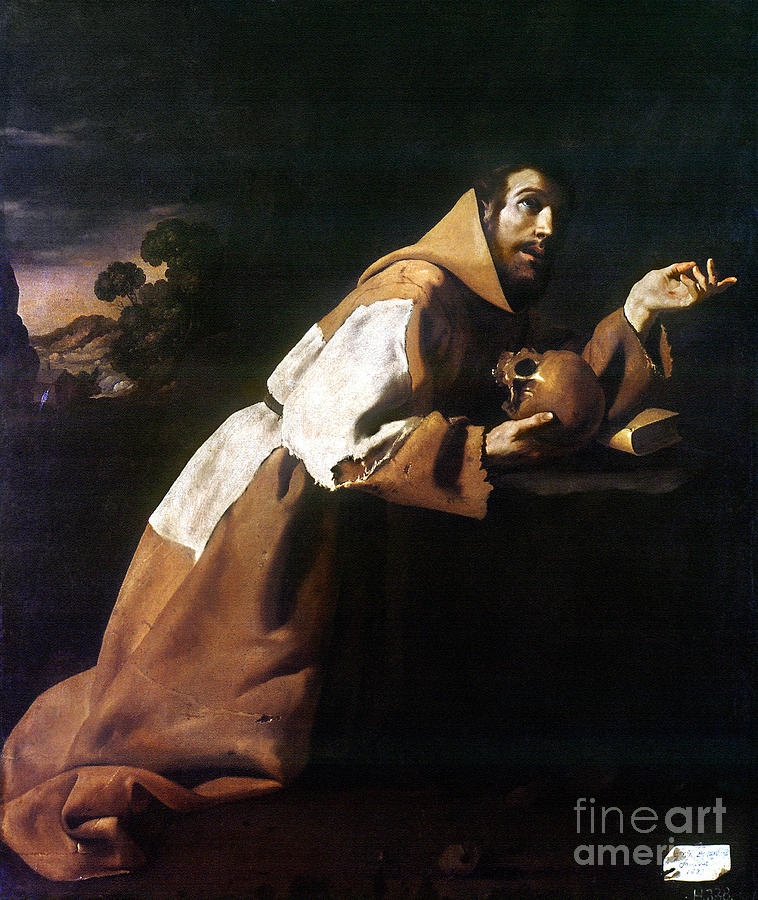 1639 Painting - St. Francis Of Assisi by Granger