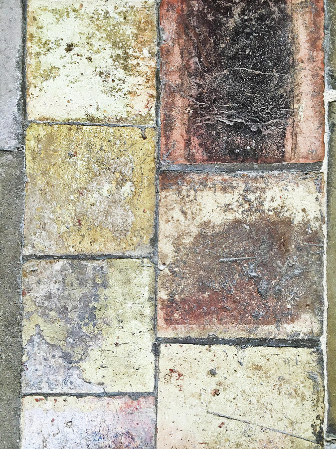 Abstract Photograph - Stone Tiles by Tom Gowanlock