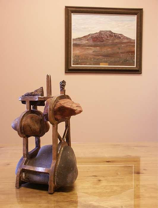 5 Stones Sculpture by Bob Peterson