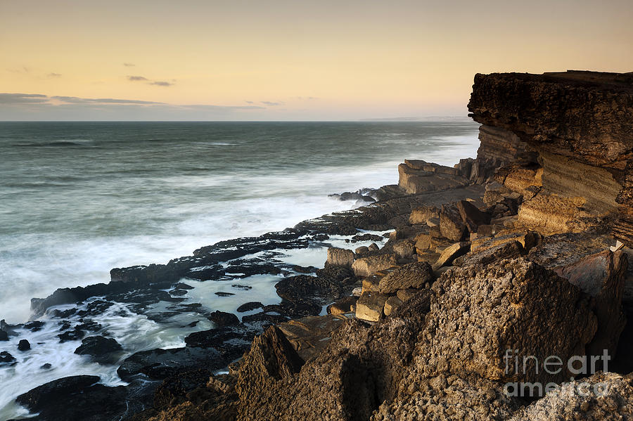 Architecture Photograph - Sunset In The Portuguese Coast by Andre Goncalves