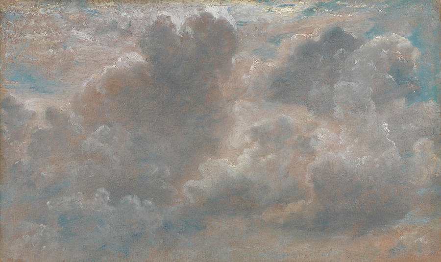 John Constable Painting - Title Cloud Study by John Constable