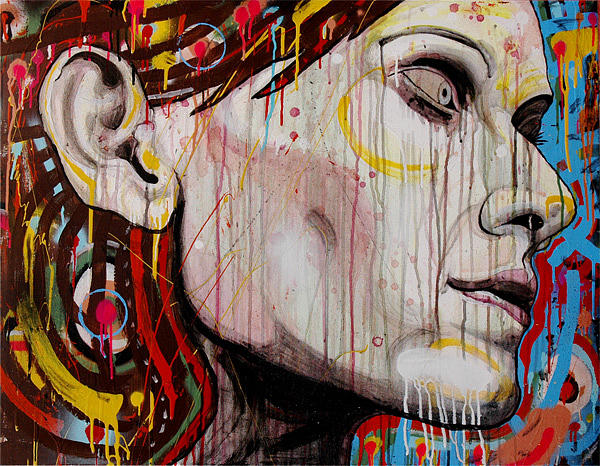 Portrait Painting - Untitled by Eduardo Bertone