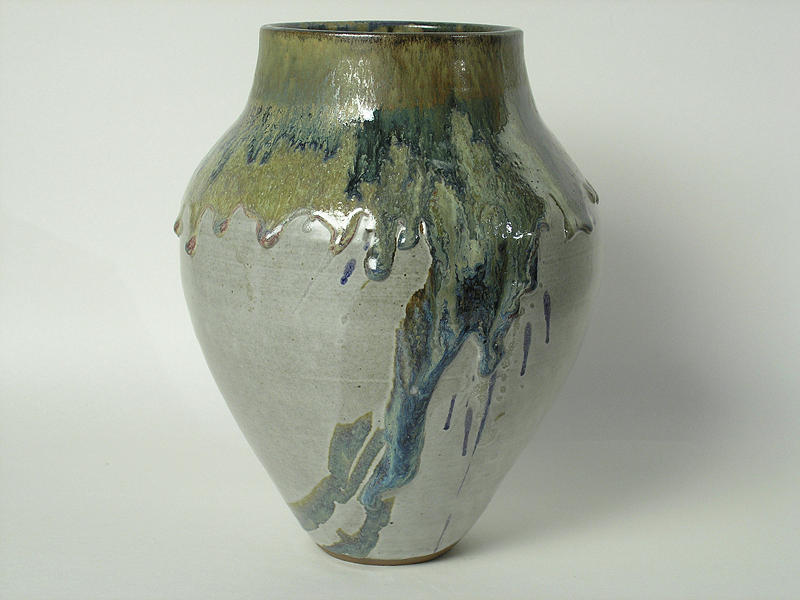 Untitled Vase Ceramic Art by Jack Roddy