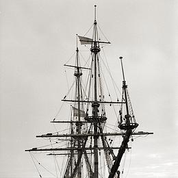 Black And White Photograph - Voc Ship by Antonie Woordes