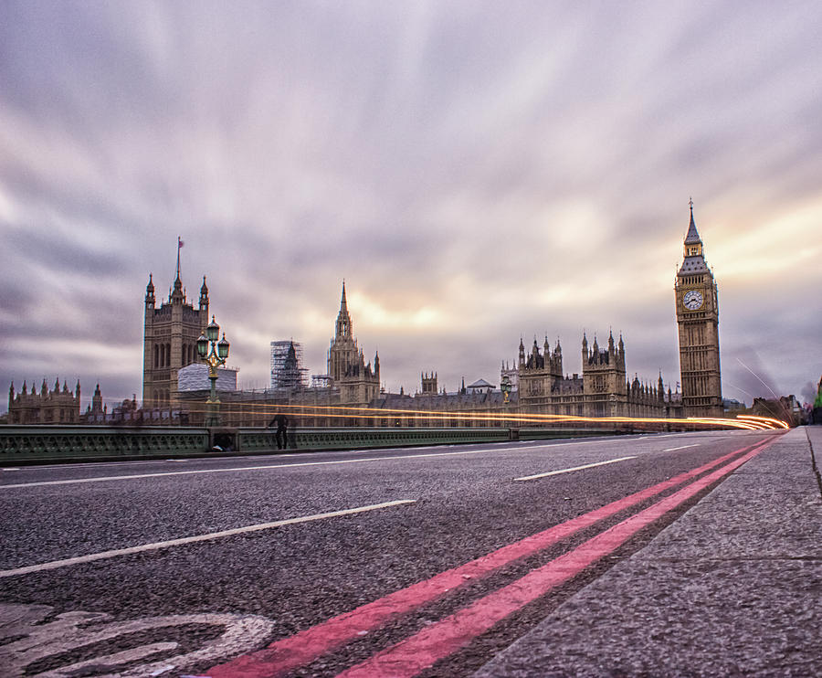 London Photograph - Westminster by Martin Newman