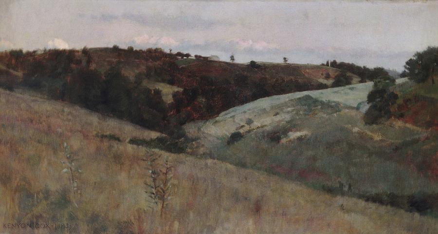 Landscape Painting - Landscape  by MotionAge Designs