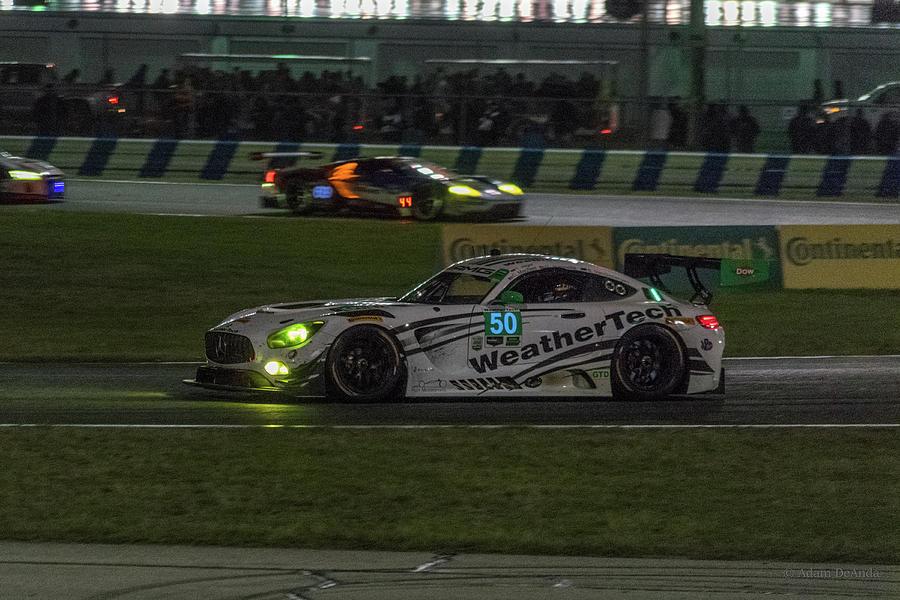 #50 Mercedes-benz Gts, Night At The Rolex 24 At Daytona ...