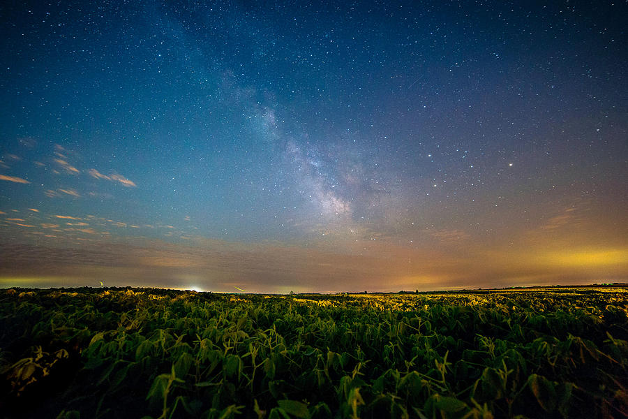 Milky Way Photograph - 50 Miles From Chicago On A Summer Night by Jackie Novak