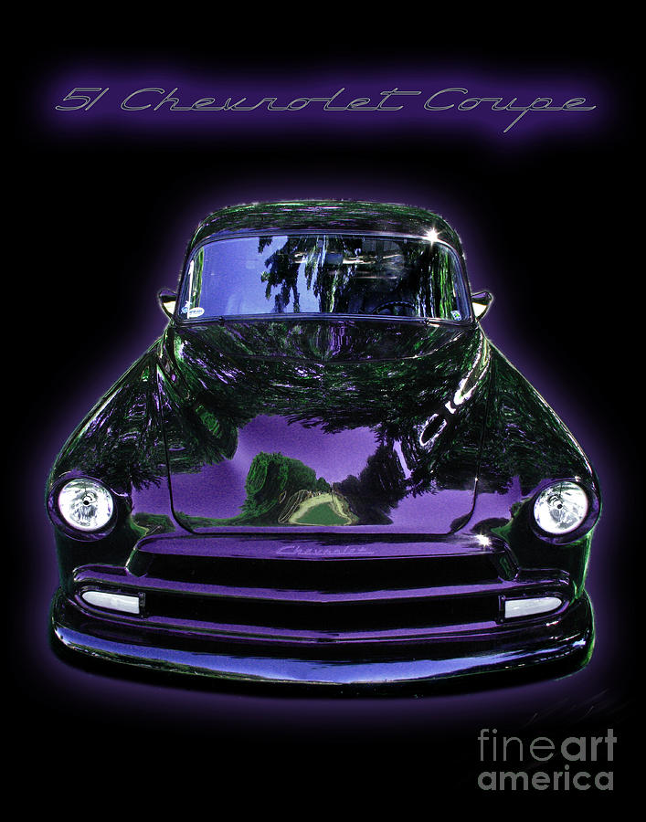 Hot Rod Photograph - 51chevrolet Coupe by Peter Piatt