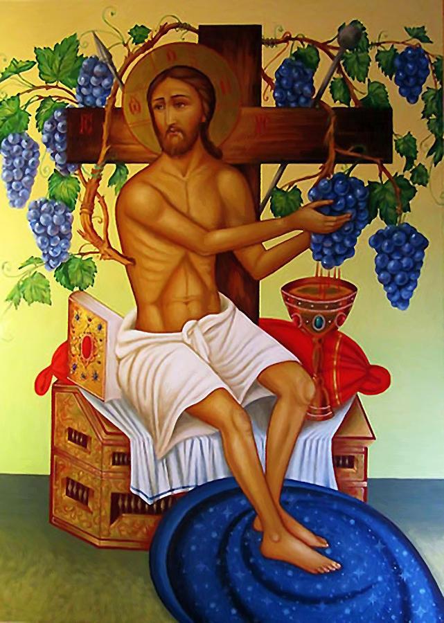 Jesus Christ Catholic Art Digital Art by Carol Jackson