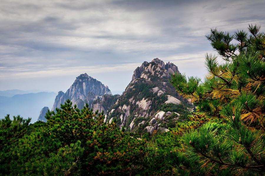 5417- Yellow Mountains Photograph