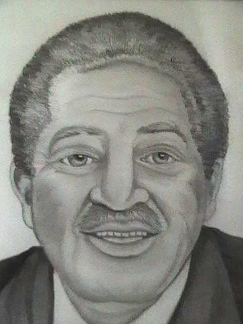 Mr. Hutchings Drawing by Anita Banks Ambrister