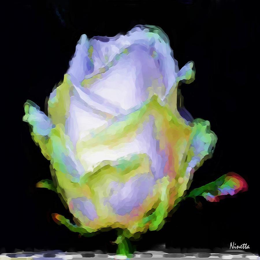 5.5 Innocence  Artwork In Poster Digital Art by Andrea N Hernandez