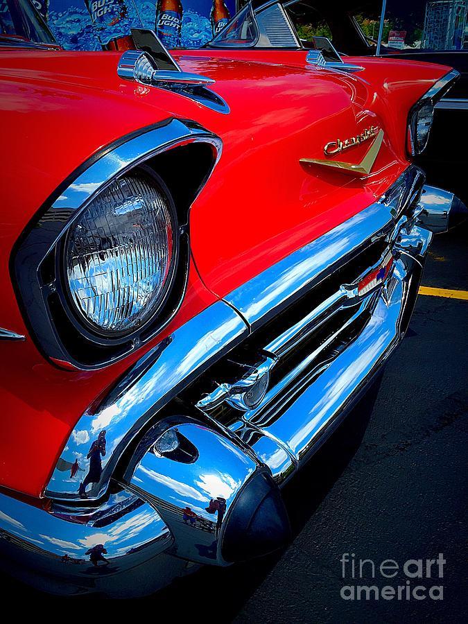 Chevrolet Photograph - 57 Bel by Garren Zanker