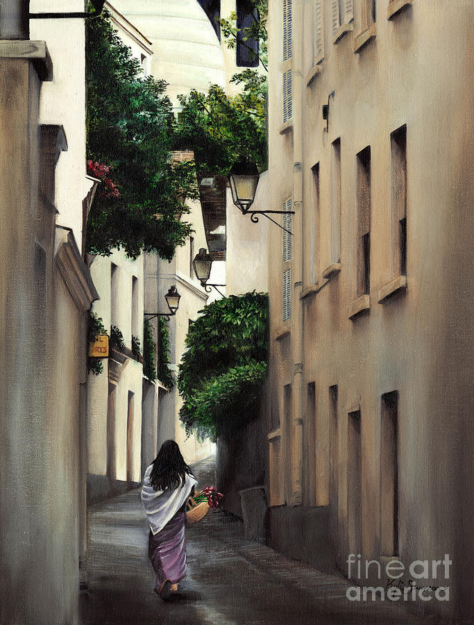 Cityscape Painting - 5am In France by Kylie Tezanos
