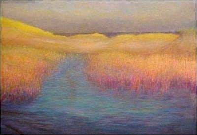 Marshes Painting - 5am Marsh by Brian Higgins