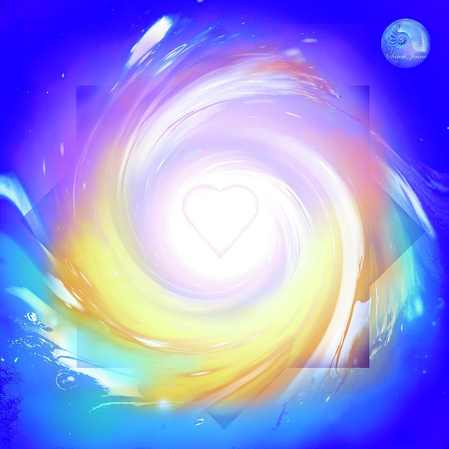 Awakening Mixed Media - 5d Activation Portal by Sarah Jeane