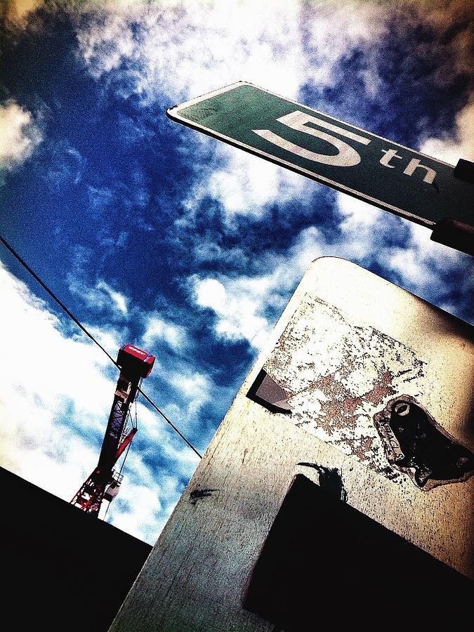 5th Photograph - 5th Avenue by Eddie G