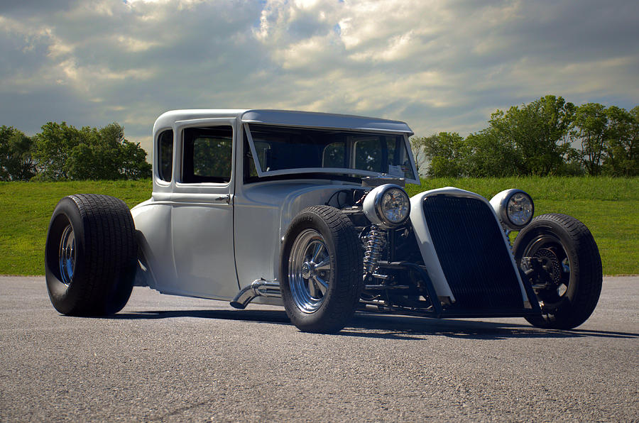 1930 Ford Coupe Hot Rod Photograph by TeeMack