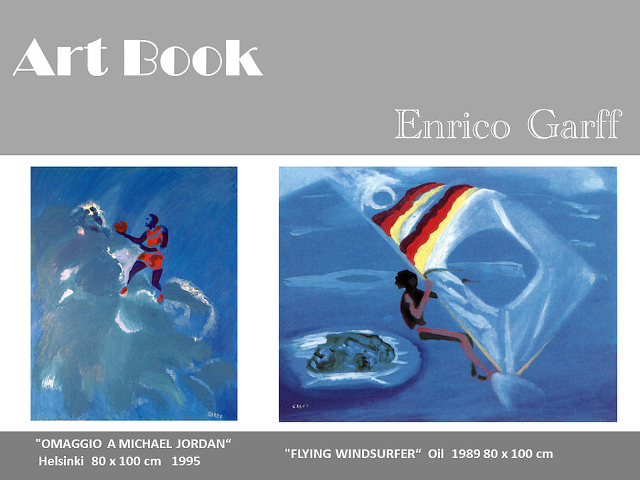 Basketball Painting - Art Book by Enrico Garff
