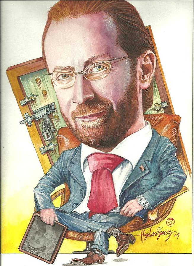Cartoon Painting by Haydar Al-yasiry