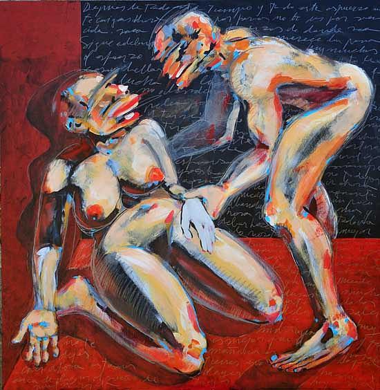 Help Painting - Epistolario by Fran Torrecilla