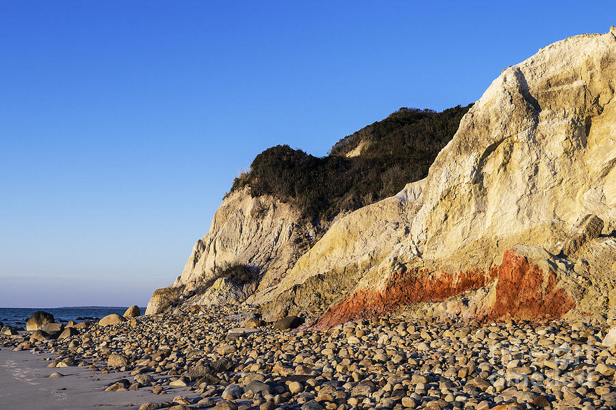 America Photograph - Gay Head Cliffs by John Greim