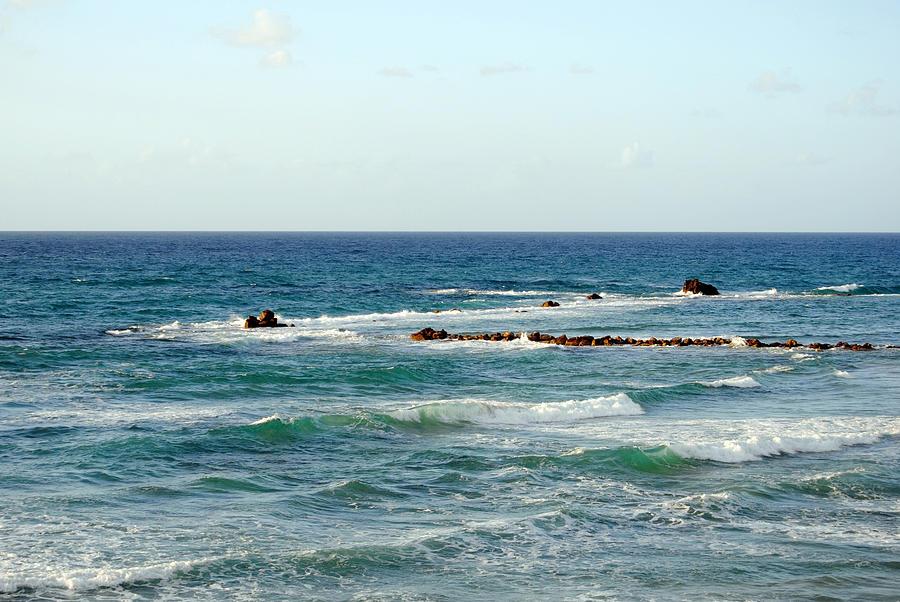 Beach Photograph - Jaffa Beach 4 by Isam Awad