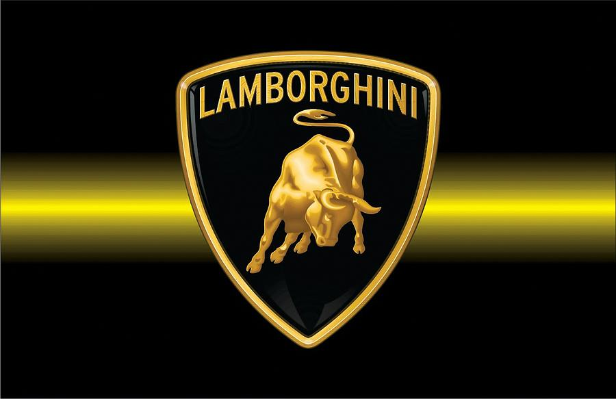 Lamborghini Logo Digital Art By Lamborghini Logo