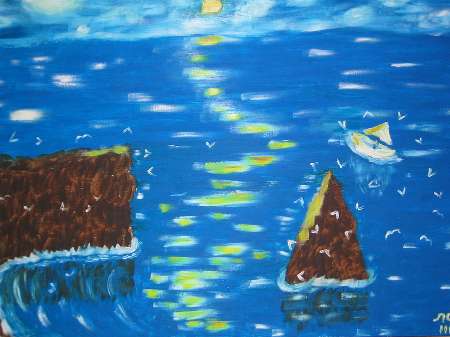 Water Painting - 6 by Lazar Caran