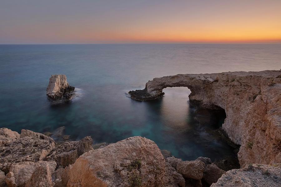 Bridge Of Love Photograph - Love Bridge - Cyprus by Joana Kruse