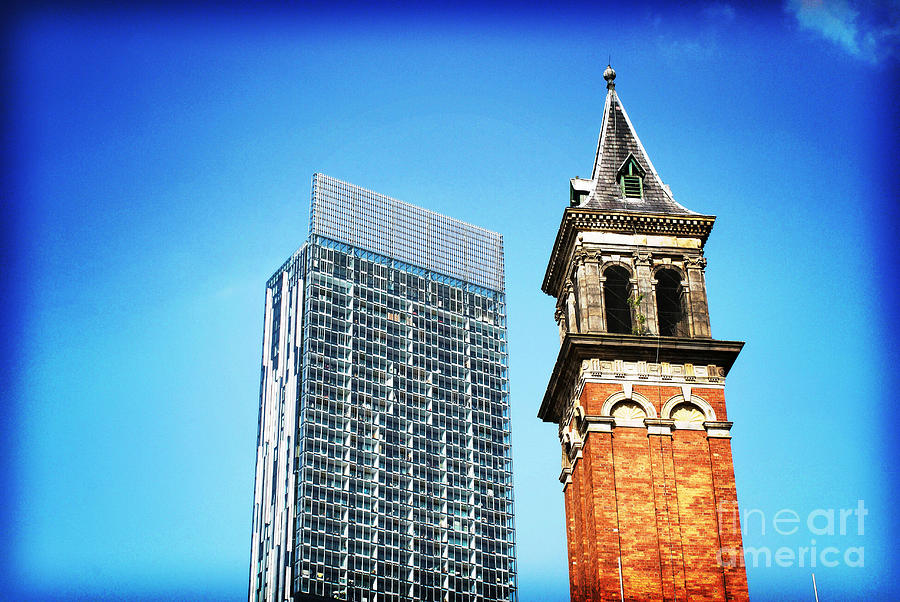 Architecture Photograph - Manchester - Beetham Tower by Hristo Hristov