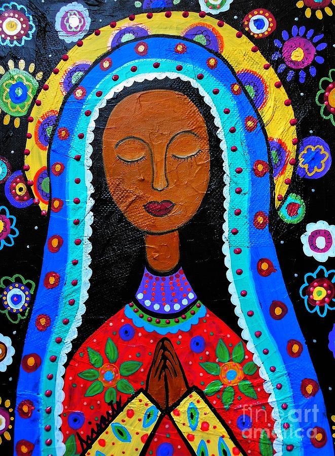 Our Lady Of Guadalupe Painting By Pristine Cartera Turkus
