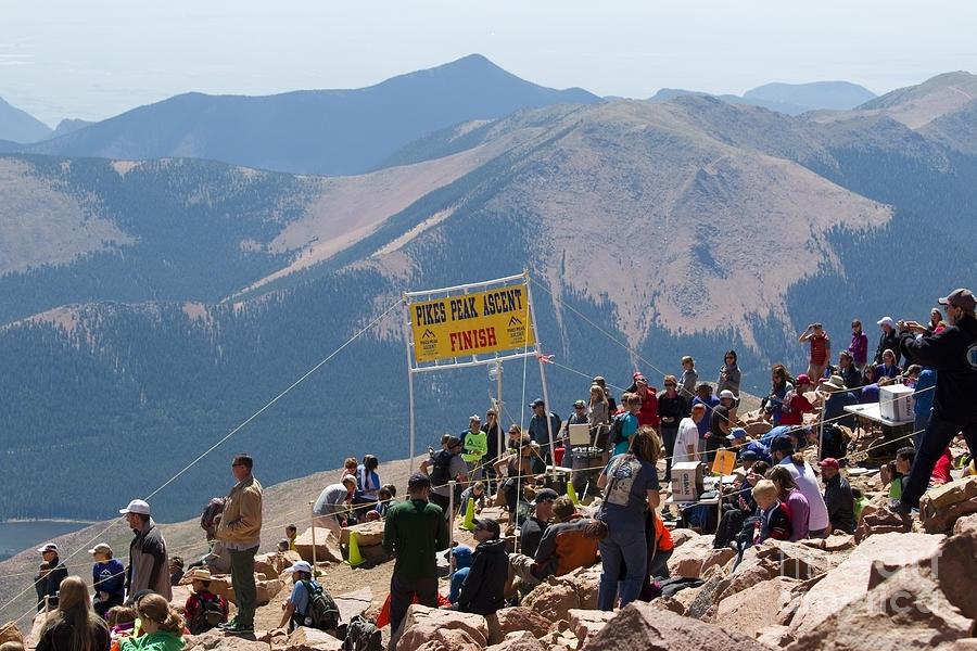 Pikes Peak Marathon And Ascent Photograph