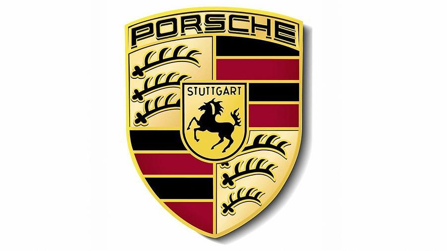 Porsche Logo Digital Art By Porsche Logo