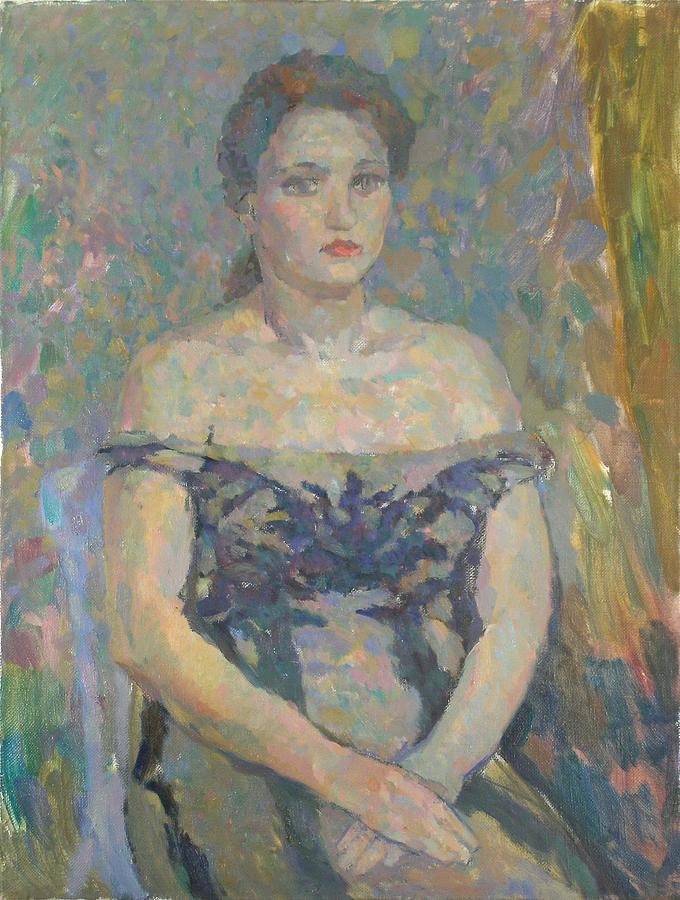 Beauty Painting - Portrait  by Robert Nizamov