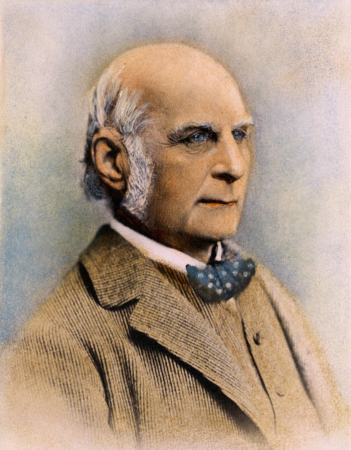 Sir Francis Galton, 1822-1911