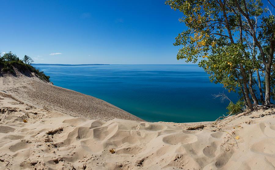 Sleeping Photograph - Sleeping Bear Dunes by Twenty Two North Photography
